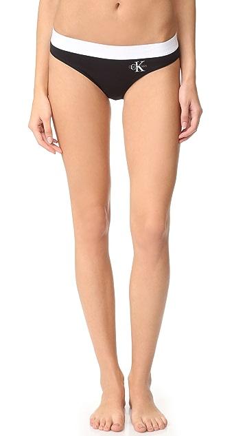 Calvin Klein Underwear Retro Calvin Bikini Panties