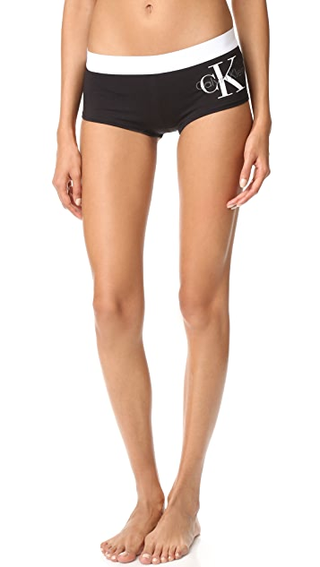 Calvin Klein Underwear Retro Calvin Boy Shorts