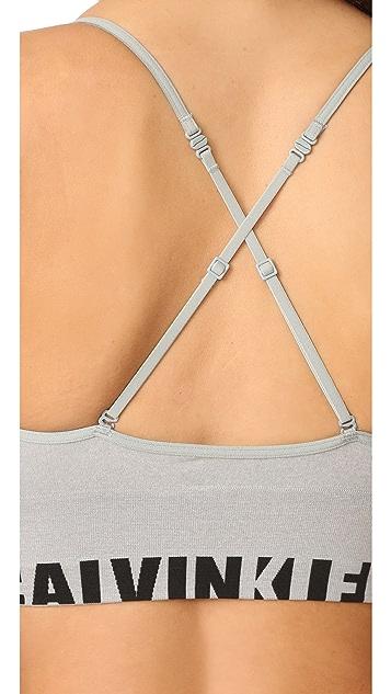 Calvin Klein Underwear Seamless Logo Multi Way Bralette