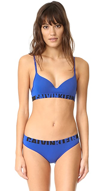 Calvin Klein Underwear Seamless Logo Demi Bra