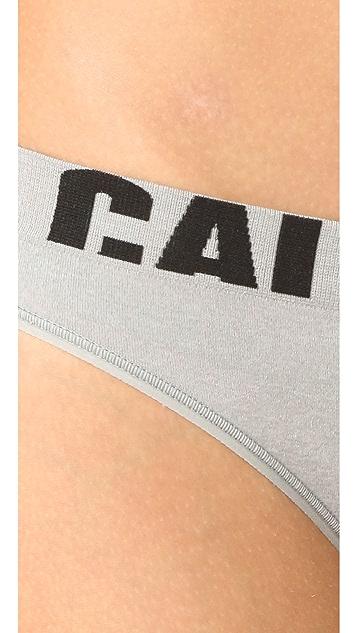 Calvin Klein Underwear Seamless Logo Thong