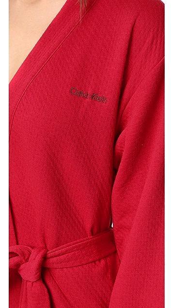 Calvin Klein Underwear Harmony Quilted Robe