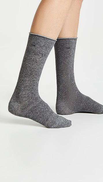 Calvin Klein Underwear 袜口卷边袜三件装