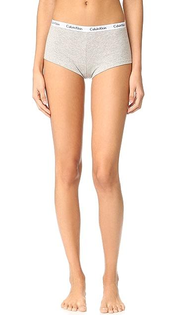 Calvin Klein Underwear Carousel Thong, Bikini, Boyshort 3 Pack