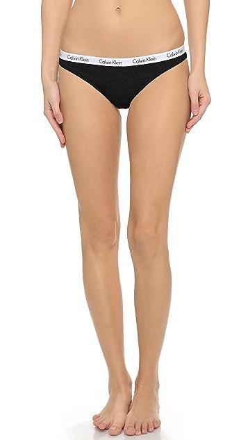 Calvin Klein Underwear Carousel 3 Pack Thong