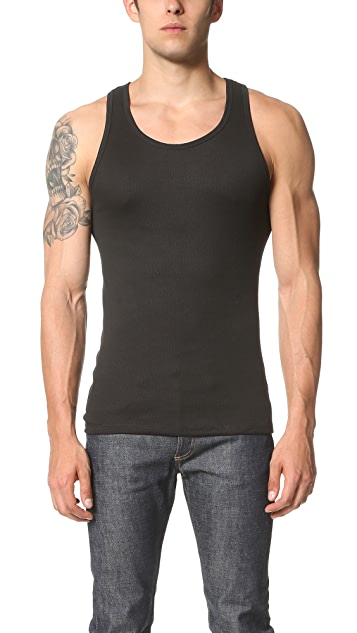 Calvin Klein Underwear Cotton Classic 3 Pack Ribbed Tanks