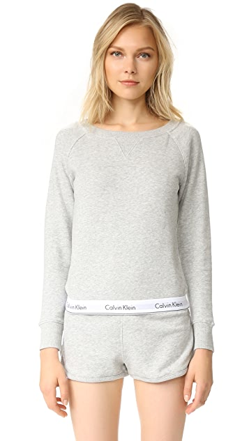 Calvin Klein Underwear Modern Cotton Long Sleeve Sweatshirt