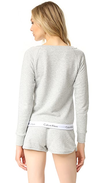 Calvin Klein Underwear Modern Cotton Long Sleeve Sweatshirt