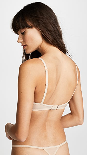 Calvin Klein Underwear Прозрачный бюстгальтер-балконет Marq