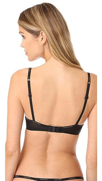 Calvin Klein Underwear Sheer Marq Demi Bra