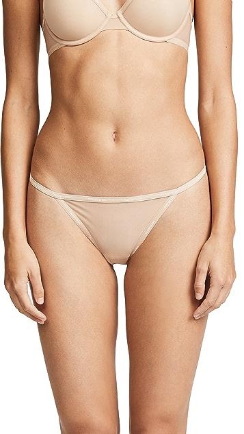 Calvin Klein Underwear Sheer Marq String Thong