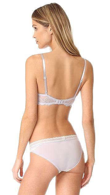 Calvin Klein Underwear Seductive Comfort Demi Lift Bra