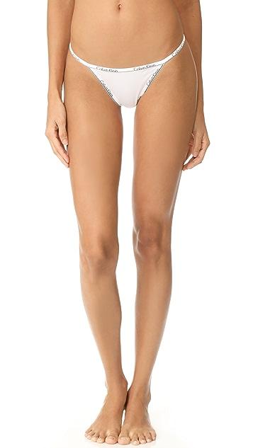 26b235e11d47 Calvin Klein Underwear Calvin Klein ID String Thong | SHOPBOP