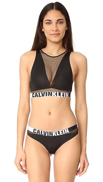 56d55741af Calvin Klein Underwear Calvin Klein ID Unlined Bralette ...