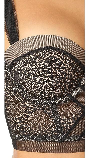 Calvin Klein Underwear CK Black Longline Bra