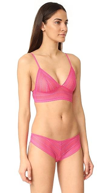 Calvin Klein Underwear Ombre Triangle Unlined Bra