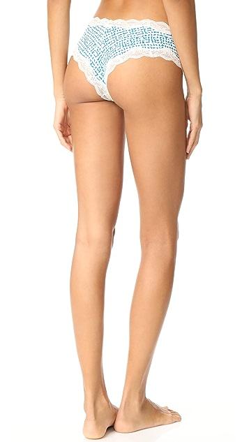 Calvin Klein Underwear Coquette Micro Cheeky Hipster Briefs