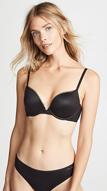 d8889e017bac9 Calvin Klein Underwear Everyday Calvin Plunge Push Up Bra
