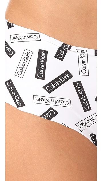 Calvin Klein Underwear Printed Invisibles Hipster