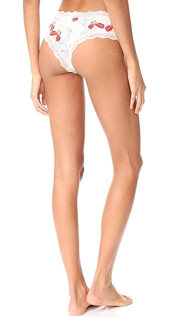 Calvin Klein Underwear Coquette Cheeky Hipster Panties