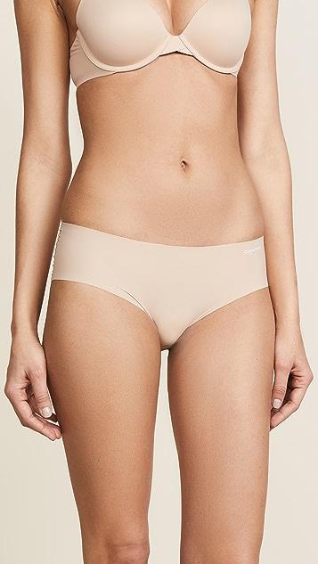 Calvin Klein Underwear Комплект из трех пар трусиков Invisibles с низкой талией