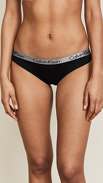 Calvin Klein Underwear Radiant Cotton Bikini 3 Pack