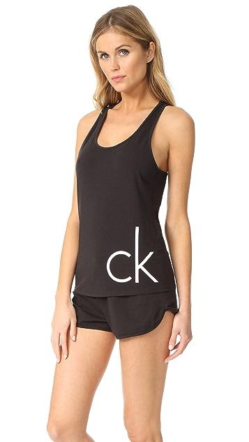 Calvin Klein Underwear Logo Sleep Set
