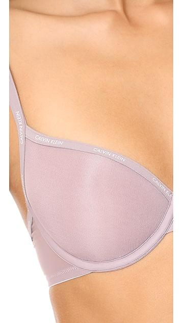 Calvin Klein Underwear Sheer Marq Demi Lightly Lined Bra