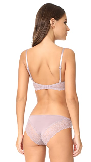Calvin Klein Underwear Seductive Comfort Lace Demi Lift Multiway Bra
