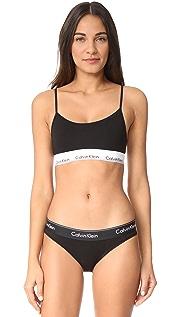 Calvin Klein Underwear Modern Cotton Unlined Bralette