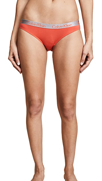 Calvin Klein Underwear 3 Pack Radiant Cotton Bikini Briefs