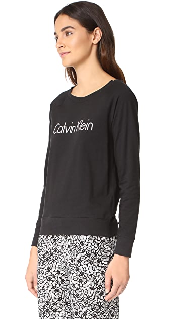 Calvin Klein Underwear Long Sleeve PJ Top