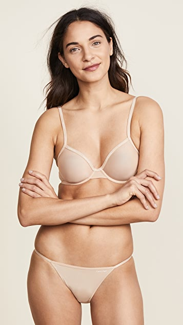 Calvin Klein Underwear Sleek String Bikini Panties