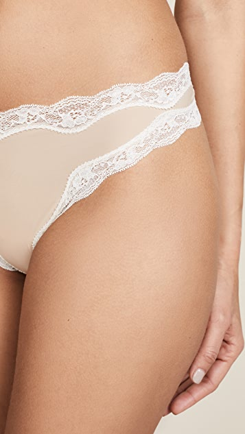 Calvin Klein Underwear Thong with Lace