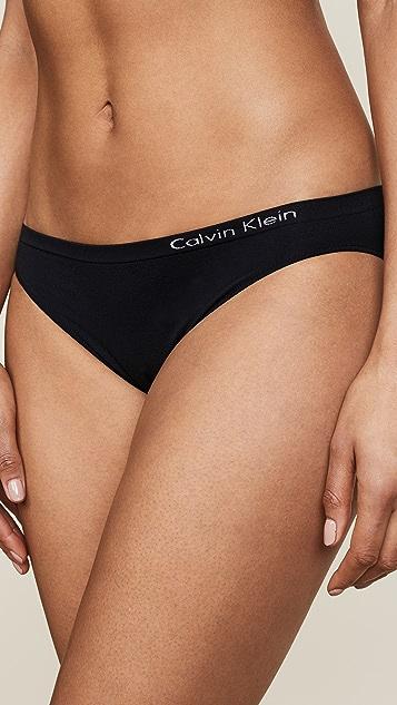 Calvin Klein 钢托文胸 Pure 无接缝比基尼 3 件装