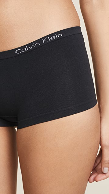 Calvin Klein Underwear Бесшовные трусики-шорты Pure