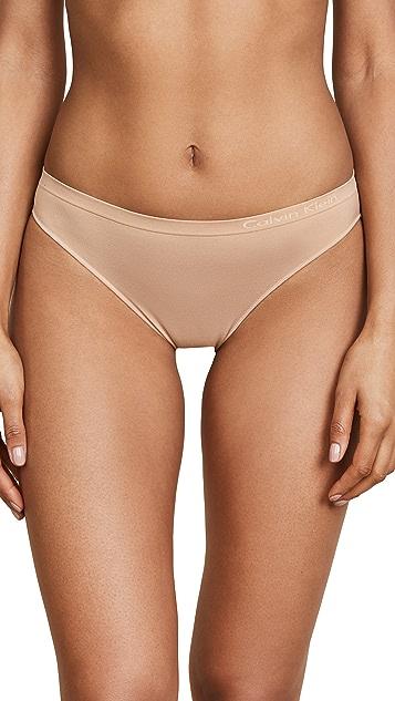 Calvin Klein Underwear Бесшовные трусики-бикини Pure
