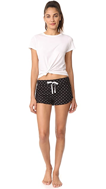 Calvin Klein Underwear Comfort Fleece 2 Pack Shorts