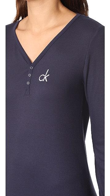 Calvin Klein Underwear Hashtag Nightshirt