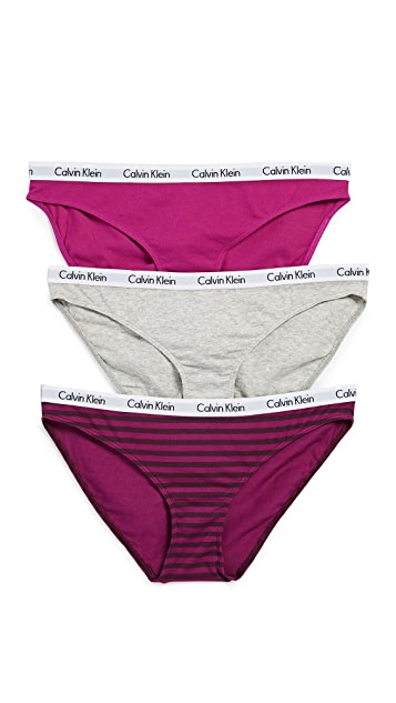 Calvin Klein Underwear Carousel Bikini Briefs 3 Pack
