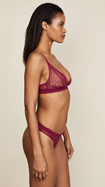 Calvin Klein Underwear CK Black Obsess Unlined Bralette