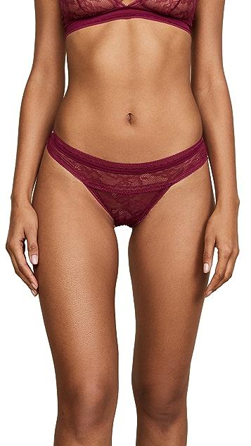 Calvin Klein Underwear CK Black Obsess Thong