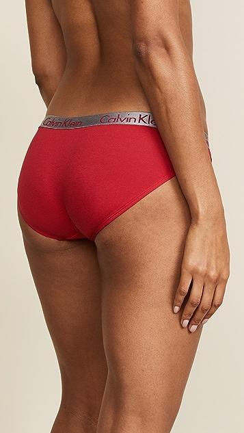 Calvin Klein Underwear Radiant Cotton Bikini Briefs