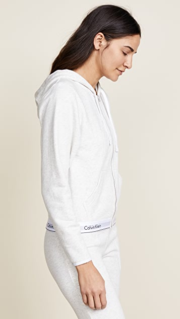 Calvin Klein Underwear Modern Cotton Zip Hoodie