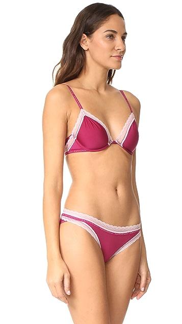 Calvin Klein Underwear Signature Plunge Bralette