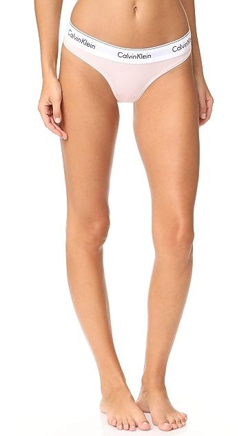 Calvin Klein Underwear Modern Cotton Thong