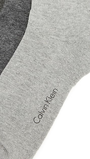 Calvin Klein Underwear 3 Pack Cushion Sole Crew Socks