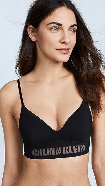 Calvin Klein Underwear Laser Logo Triangle Bra