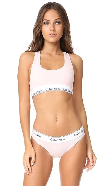 48897e394c6 Calvin Klein Underwear Modern Cotton Bralette ...
