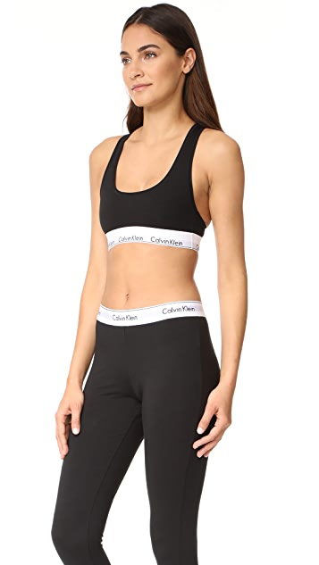 Calvin Klein Underwear Modern Cotton Bralette & Leggings Set